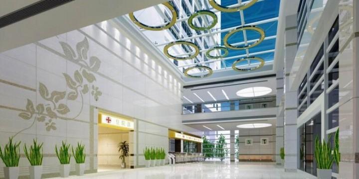 医院大厅吊顶装修效果图