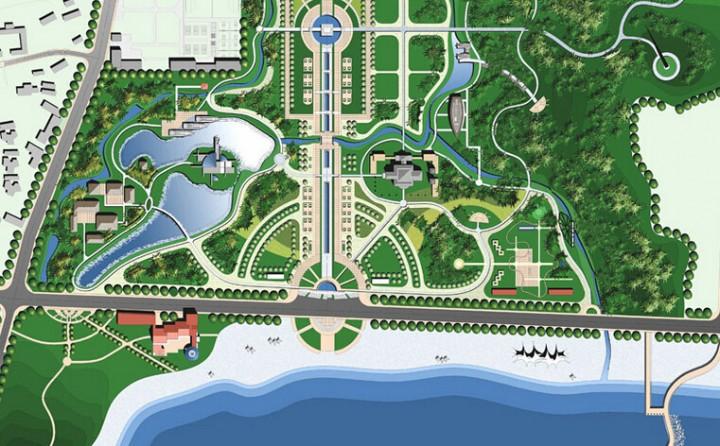 城市公园规划效果图欣赏