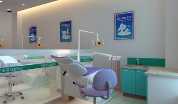 口腔诊所装修设计案例0