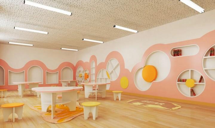 现代幼儿园装修设计效果图