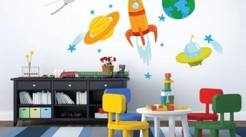 高档幼儿园墙面布置图片0
