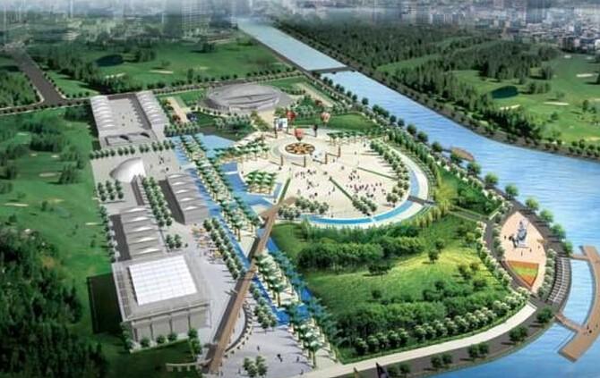 市民生活广场设计效果图