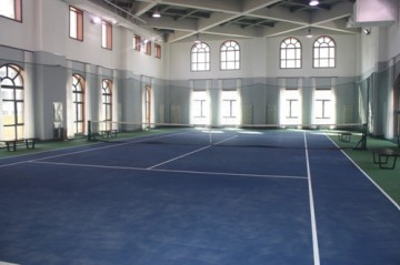高雅室內網球館裝修效果圖