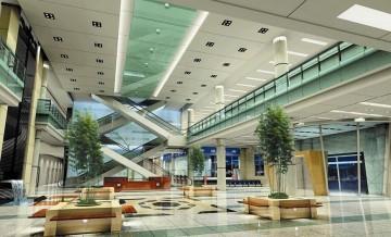 医院大厅吊顶设计图片大全0