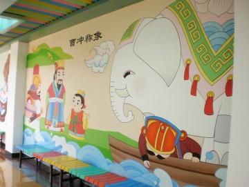 幼儿园手绘墙设计效果图