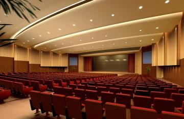 体育馆会议室设计效果图0