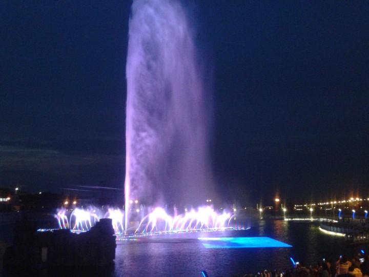 城市喷泉广场喷泉设计效果图