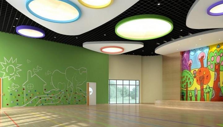 幼儿园教室墙壁装饰效果图