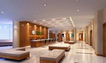 医院大厅装修图片0