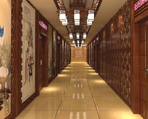 中式风格医院装修效果图
