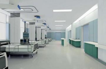 现代病房装修效果图0