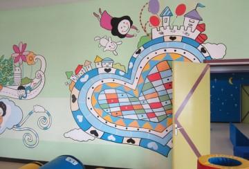 幼儿园墙面装饰效果图