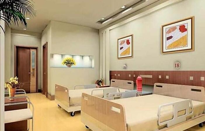 医院标准病房装修效果图案例