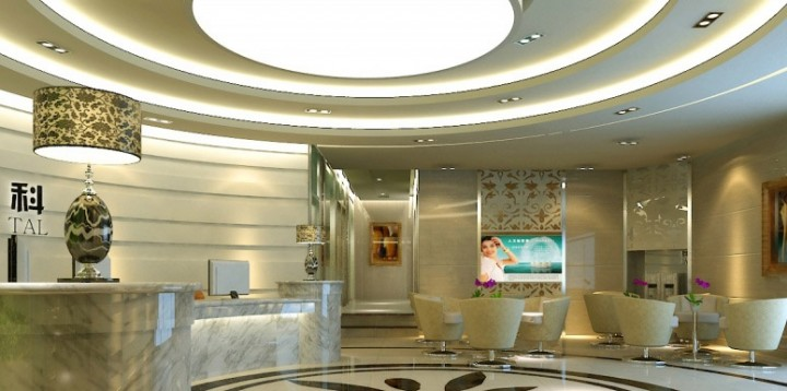 医院大厅装修设计效果图