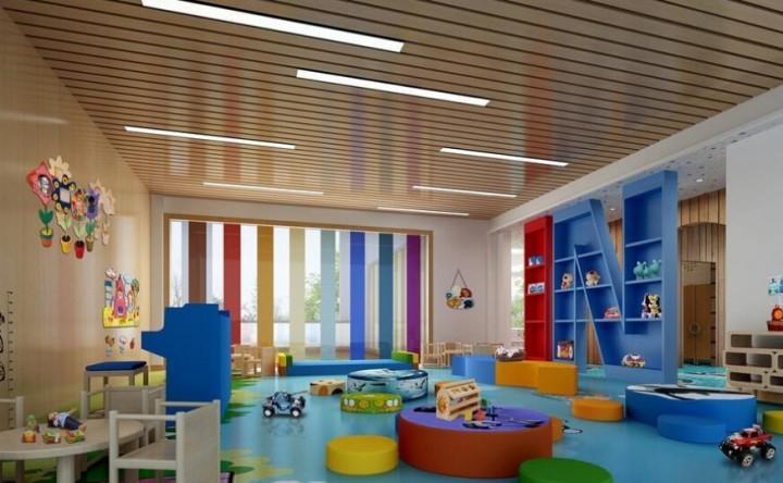 幼儿园游乐场装修效果图欣赏