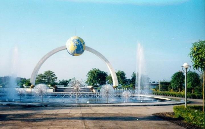 公园标志景观设计效果图