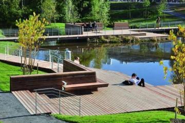 校园公园景观图片欣赏0