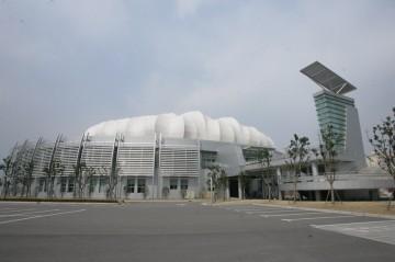 體育館外觀建筑設計效果圖