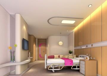 医院病房装修设计效果图0