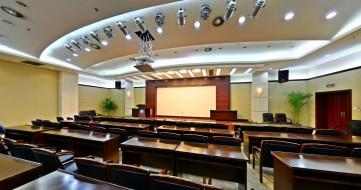 大型會議室裝修效果圖