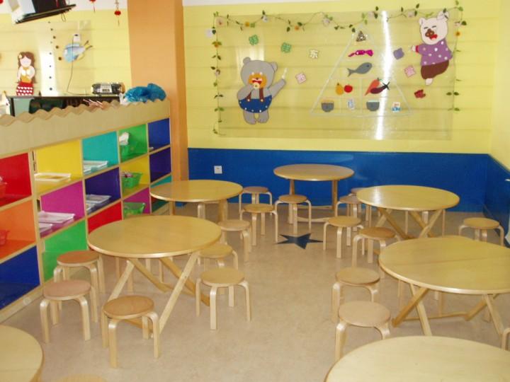 幼儿园餐厅装修效果图