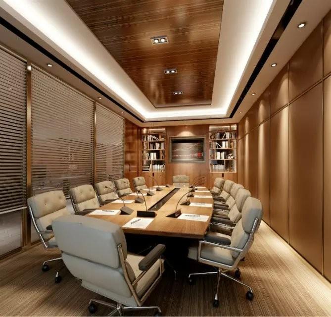 企业会议室装修效果图欣赏
