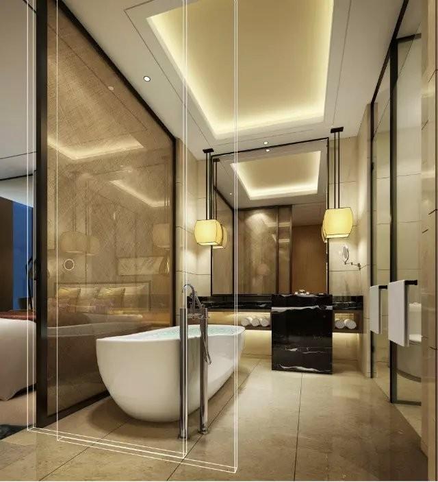 大型国际酒店装修效果图