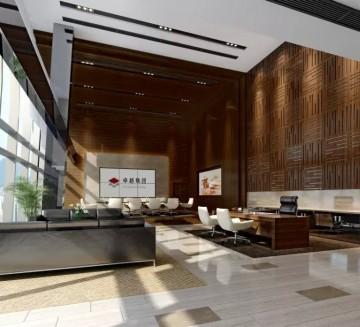 大型办公室装修设计效果图片