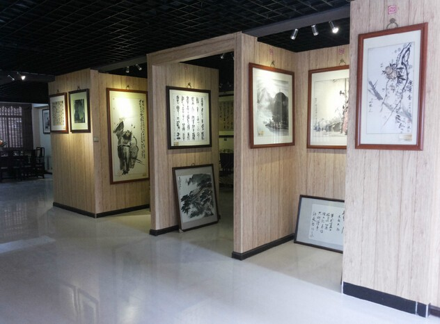 字画展厅装修设计效果图赏析