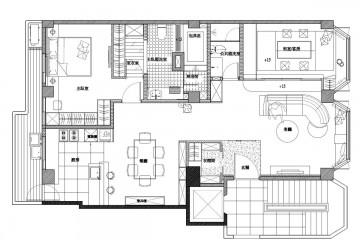 一居室小户型日式风格装修效果图