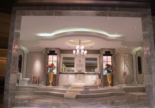 卫浴展厅装修搭建效果图