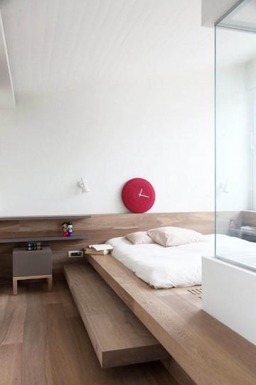 日本风格的简约阁楼0