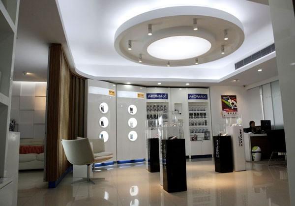 数码电子产品展厅装修装饰效果图