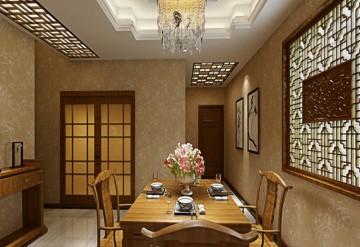 122平方新中式风格装 ...