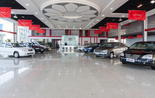 品牌汽车4S店展厅装修效果图