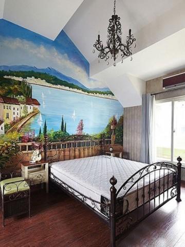 童话般地中海风格新婚房屋装修效果图