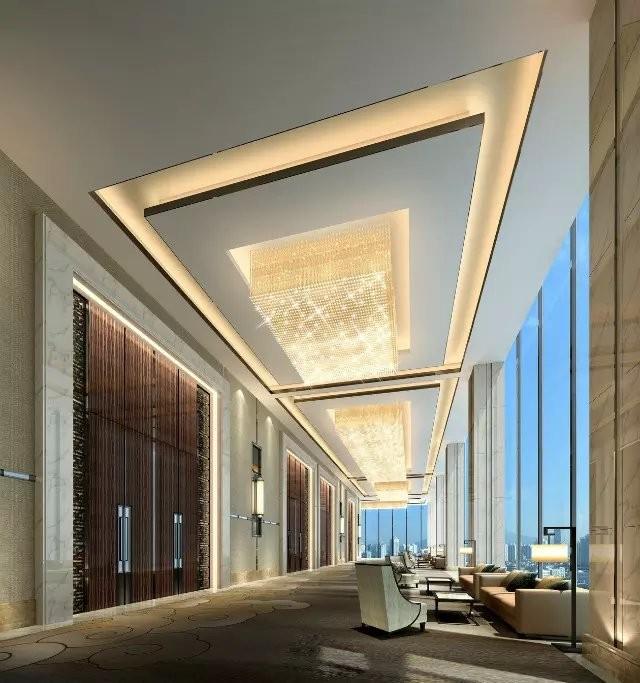 现代五星级酒店装修效果图