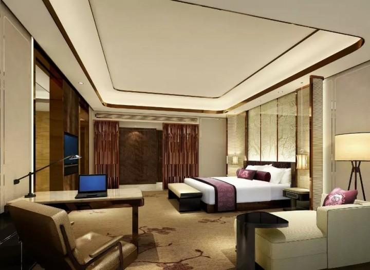 酒店现代风格装修效果图案例