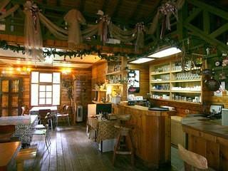 乡村木屋咖啡厅装修效果图赏析