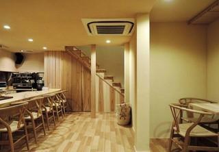 静谧日式风格咖啡厅装修效果图