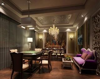 欧式古典风格咖啡厅装修效果图