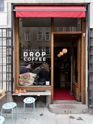 过目不忘咖啡厅门面装修效果图