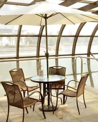 咖啡厅藤艺装修装饰效果图
