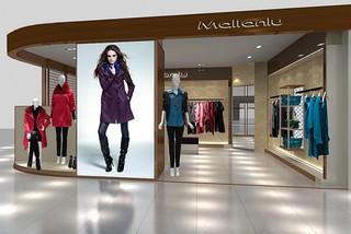 女装店橱窗展示装修效果图
