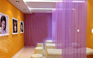 美容院天花板装修装饰效果图