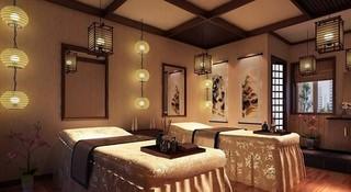 中式风格美容院装修效果图