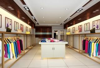 小型服装店铺装修设计效果图
