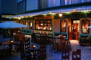 时尚餐厅式酒吧装修效果图