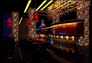 大型酒吧大厅装修设计效果图