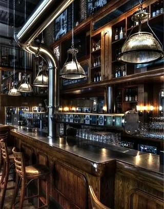 创意个性酒吧吧台设计效果图
